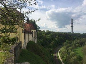 Blick auf Thyssenturm Rottweil