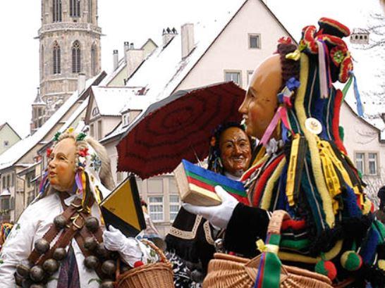 Carnival in Rottweil (Rottweiler Fasnet)